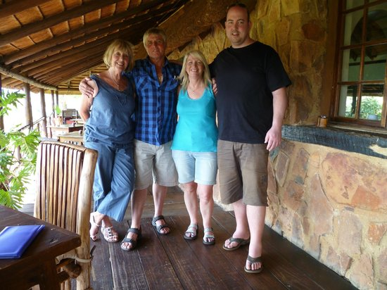 Glen Afric Country Lodge: Very happy bunch!