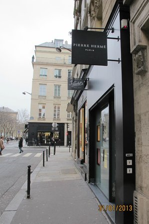 Millesime Hotel: Pierre Herme at Rue Bonaparte
