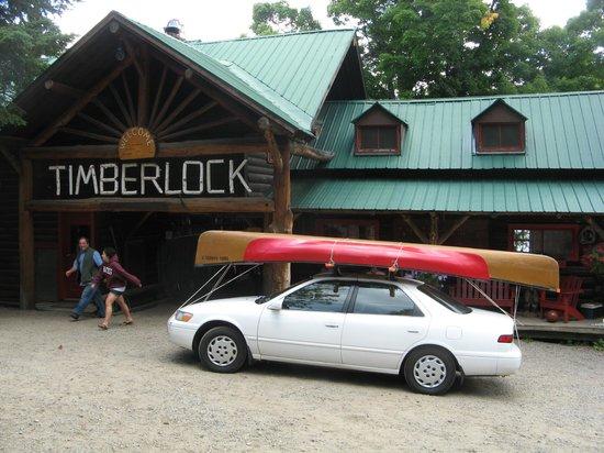 Timberlock : Us arriving at  TL