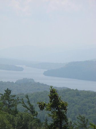 Timberlock: View of Indian Lake from Baldy