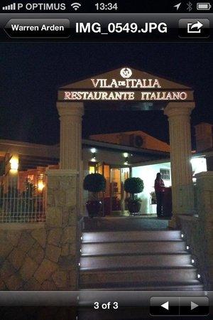 Vila de italia