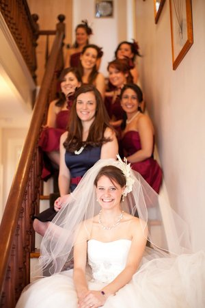 Leathers-Snyder Inn Bed and Breakfast : Here comes the Bride!