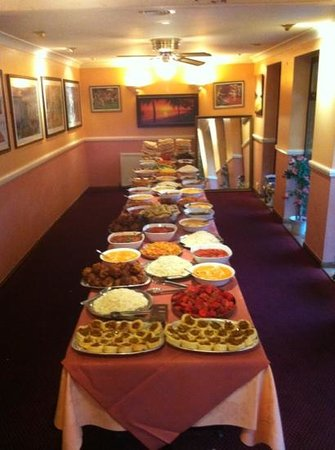 The Indian cottage: party room banquet
