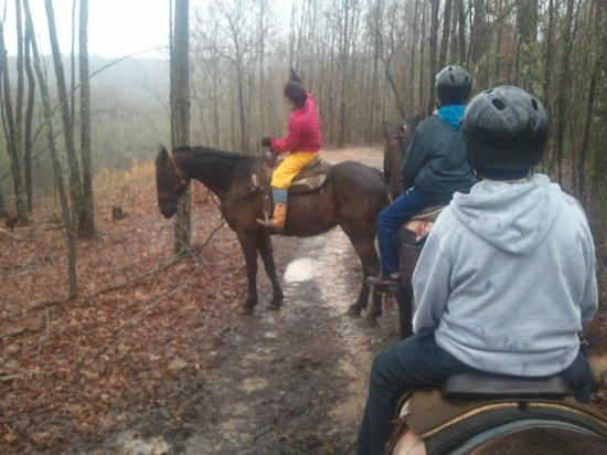 Blanche Manor Lodge & Bunkhouse: Riding with Amanda
