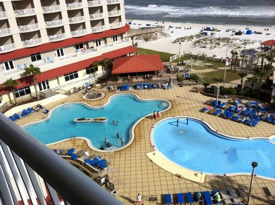 Hilton Pensacola Beach: view from room