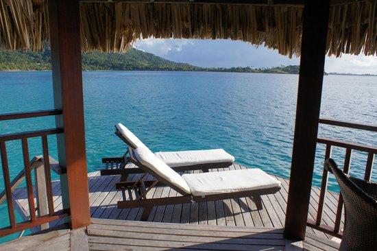 Sofitel Bora Bora Private Island: view from our deck