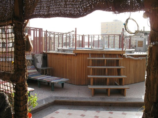 Keylany Hotel : Piccola piscina-vasca sul terrazzo