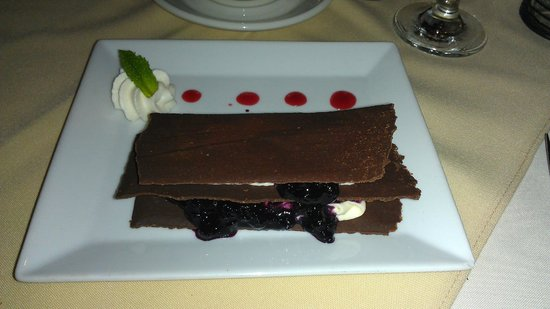 Restaurant L'arlequin : Mille Feuille