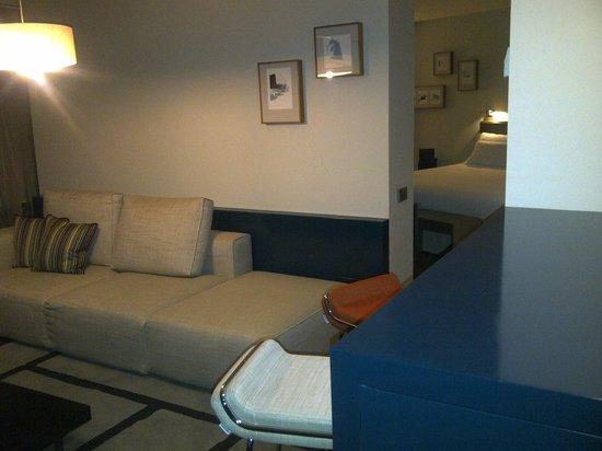 Hotel Reina Petronila: Nos faltó tiempo para disfrutar del hotel y la habitación.