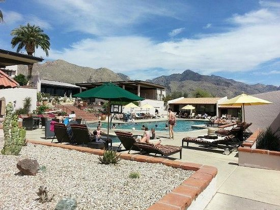 Westward Look Wyndham Grand Resort and Spa: Poolside with a view