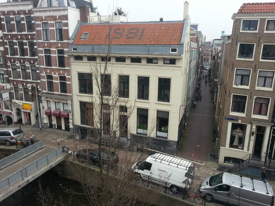 Heart of Amsterdam: view from top floor