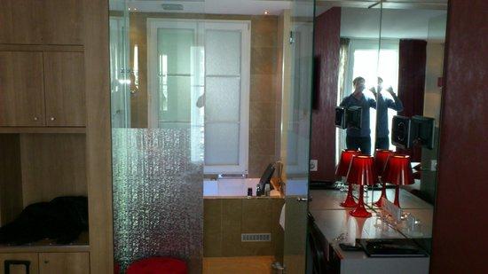 Hôtel Design Secret de Paris : chambre