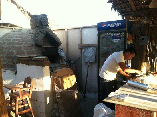 Napoli Pizza: Oven