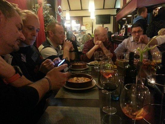 Entre coll gues picture of la petite vendee geneva for Diner entre collegues