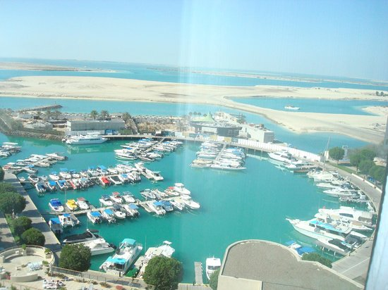 InterContinental Abu Dhabi: View from our sea view room