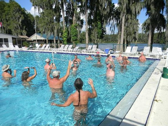 Lutz, FL: Lake Como pool
