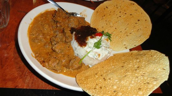 Settlers Tavern: Lamb Curry