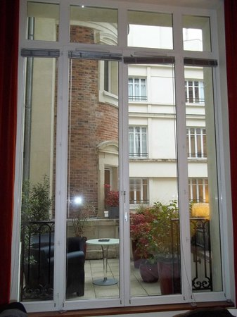 InterContinental Paris-Avenue Marceau: Balcony