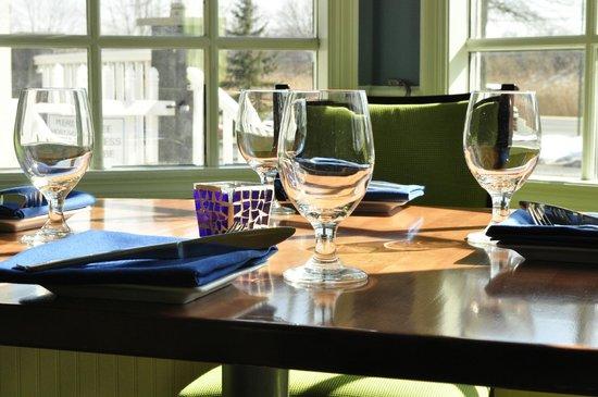 Blu Stone Bistro: Blu Stone Window Table