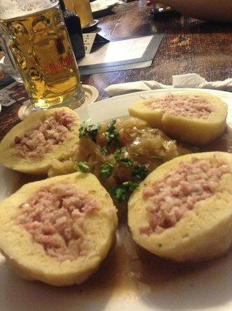 Restaurant Na louzi: Pato