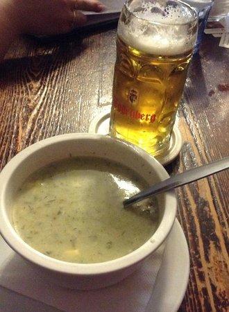 Restaurant Na louzi: Sopa
