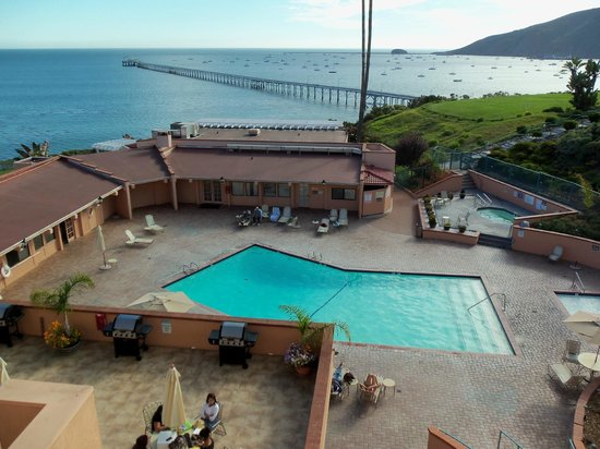 San Luis Bay Inn : Where I sat and enjoyed my tea and breakfast every day!