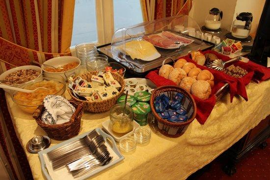 Pension Residenz: das Frühstücksbuffet