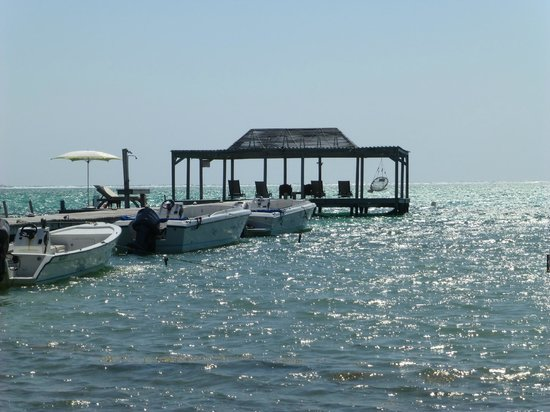 Matachica Beach Resort: Matachica's Dock