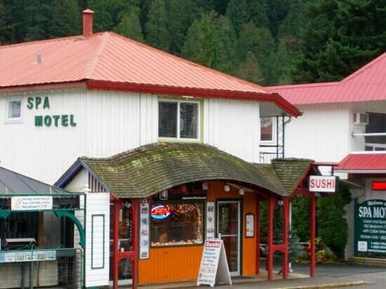 Yukiya Suishi: It is very close to Harrison Hot Spring Resort