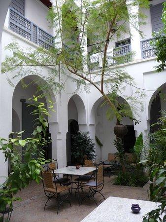 Riad Dar Binebine: architecture traditionelle