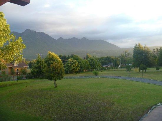 Hotel Pucon Green Park: Vista desde la suite