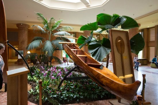 Kaua'i Marriott Resort: Inside the Entry Way