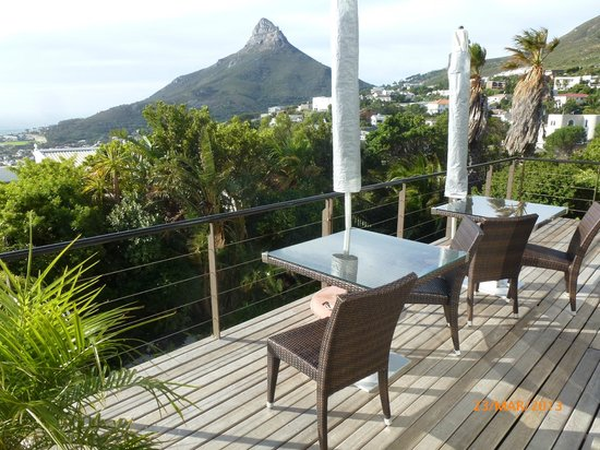 Atlanticview Cape Town Boutique Hotel: Balcony of room 4 and the room adjoining