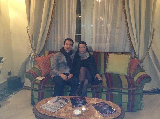 Aldrovandi Villa Borghese: В холе отеля