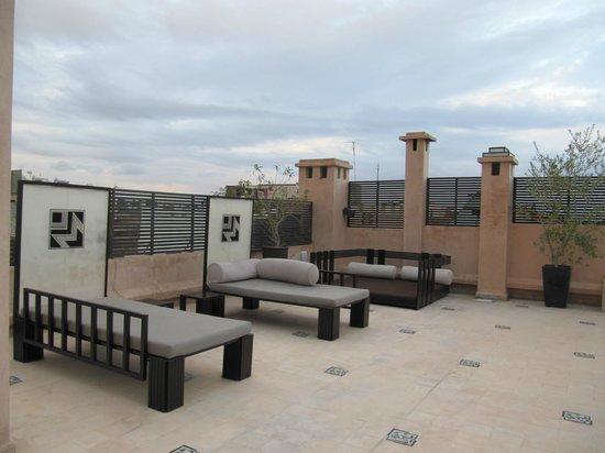 Villa Makassar: Roof terrace