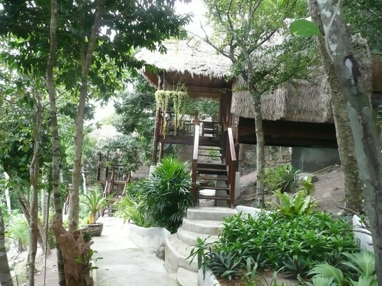 بان تالاي كوه تاو: bungalow