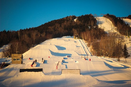 Waterville Valley Resort - Ski Area : Snowboarder Magazine top 5 Terrain Parks in the East
