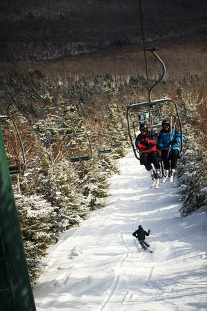 Waterville Valley Resort - Ski Area : Winter at its Peak