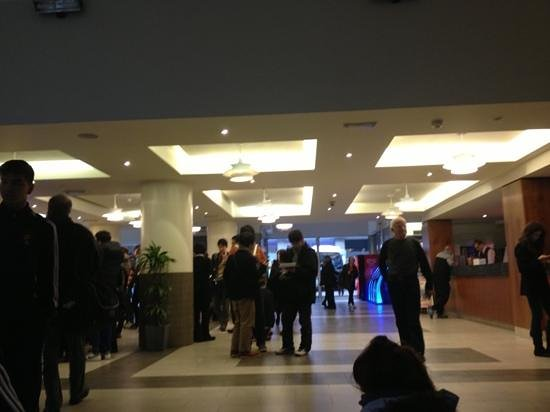 Royal National Hotel: crowds of people at the hotel lobby