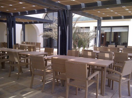 SENTIDO Djerba Beach: restaurant d'été vue sur la plage