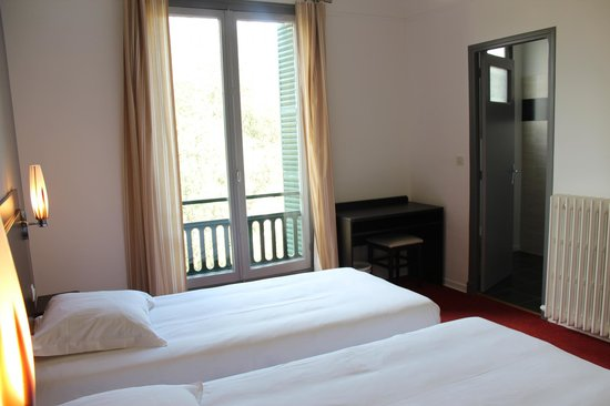 le Chantilly : chambre double (twin)