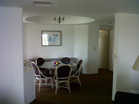 Tesoro Manzanillo: Comedor de la Habitación