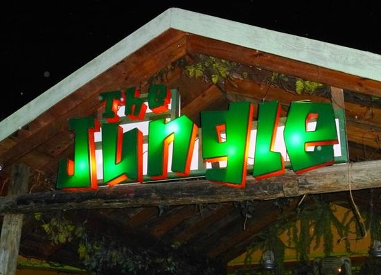 The Jungle Night Club, Sports Bar & Grill: Front entrance of The Jungle