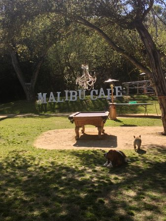 Outdoor Fun Picture Of Malibu Cafe At Calamigos Ranch Malibu TripAdvisor