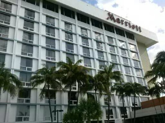Miami Airport Marriott: Hotel