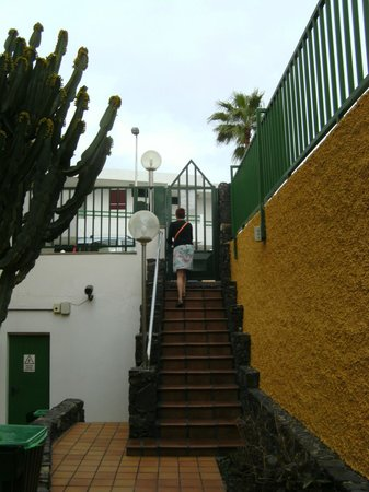 Apartamentos Judoca Beach : de in en uitgang