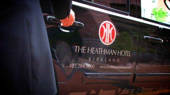 ذا هيثمان هوتل: Heathman Hotel Hybrid SUV Service