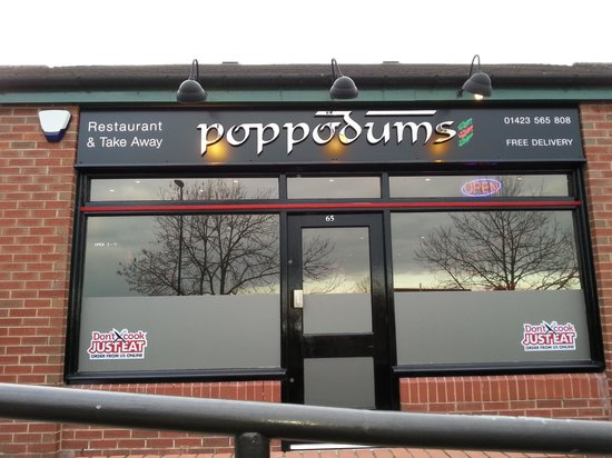 Poppodums : my favourite place.