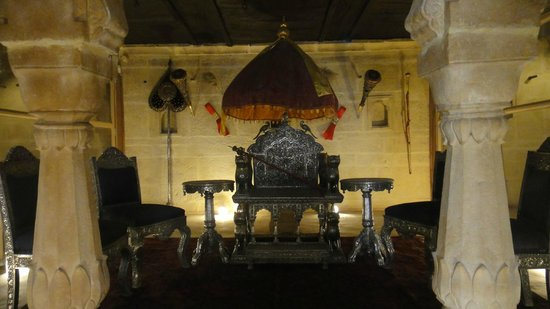 Maharaja's Palace: Throne of Maharaja