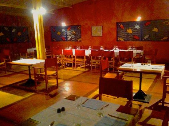 Karibo: sala da pranzo